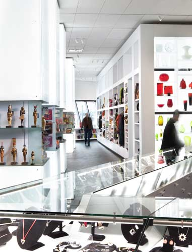 Denver Art Museum, Museum Shop rendering