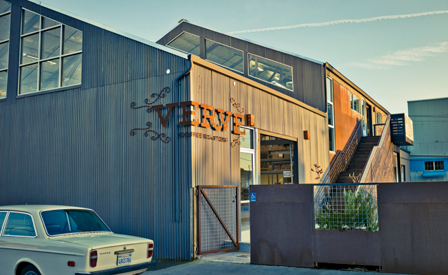 Verve Coffee Roasters (Image Credit: Architectural Record)