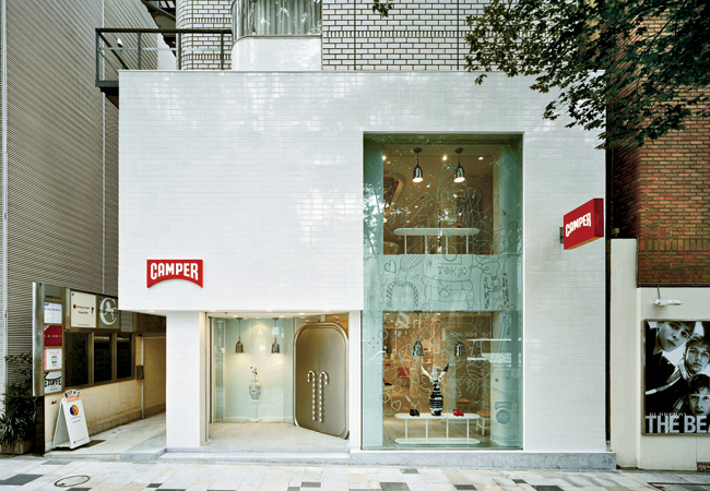 A frequent Camper collaborator, Spanish artist and designer Jaime Hayon created his first official Camper Together store in London in 2006—with subsequent European shops in Barcelona, Palma de M
