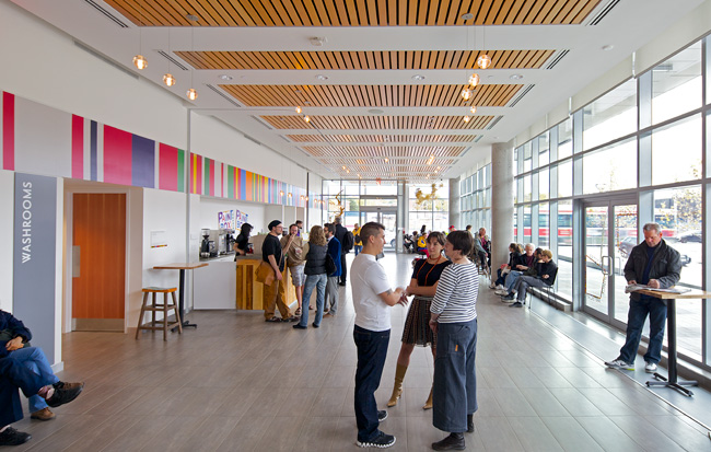 Painbox Café and Artscape Lobby/Lounge
