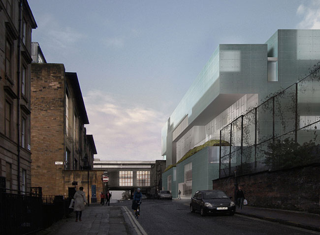 Commentary: Glasgow Neighbors - Mackintosh versus Steven Holl