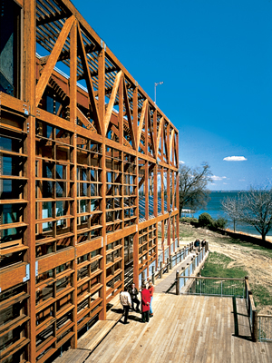 The Philip Merrill Environmental Center in Annapolis, Maryland, by SmithGroup (2000) is the subject of a lawsuit.