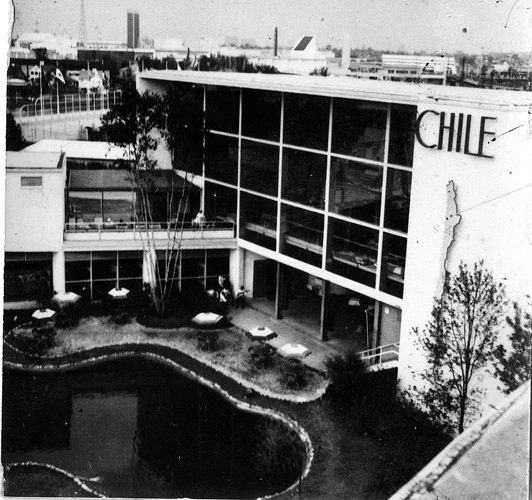 Theodore Smith-Miller and Mary Elizabeth Houck (Smith-Miller) designed the Chilean Pavilion for the 1939 World's Fair in New York City. Mary was the third woman to graduate from Columbia Univers