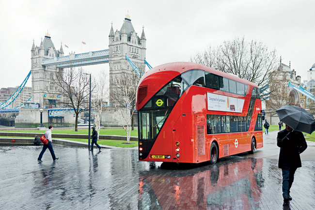 Heatherwick Studio's sleek remake of London's iconic double-decker coach, the Routemaster, made its debut in February.