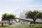 Google�s radical proposal for flexible offices includes stackable modular components.