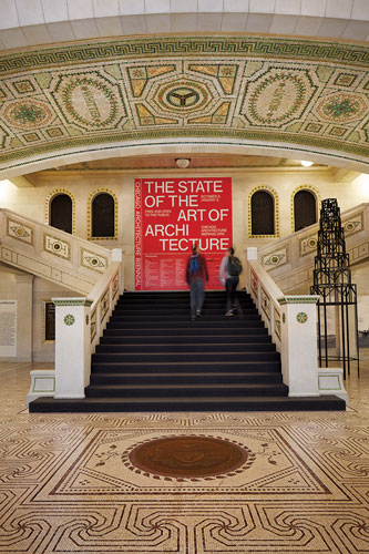 The Chicago Cultural Center is the epicenter of the Biennial.