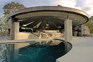 The Elrod Residence, built in 1968 in Palm Springs, California