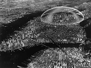 dome over Manhattan