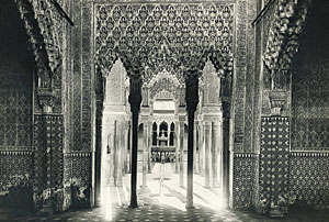 The Moors built the Alhambra in Granada