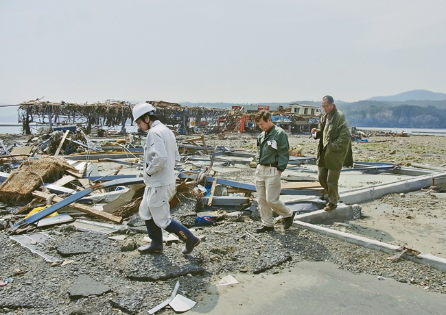 Japan Post Disaster by