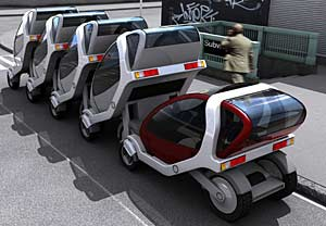 CityCar Concept vehicles