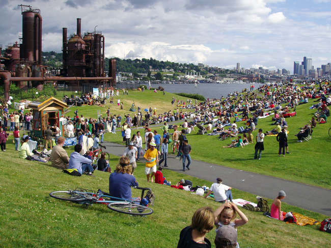 Gas Works Park in Seattle.