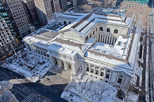 New York Public Library's Stephen A. Schwarzman Building