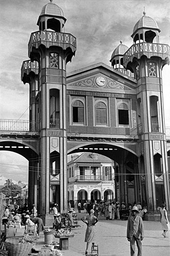 Prefabricated in France, the iron structure initially was destined to serve as a railway station in Cairo. For unknown reasons, it ended up in Haiti, where it was inaugurated in 1891.