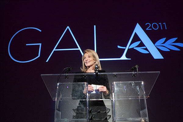 Amanda Burden, the NYC planning commissioner, was one of 15 speakers at the 22nd annual Accent on Architecture Gala in Washington, D.C. She received the Keystone Award.
