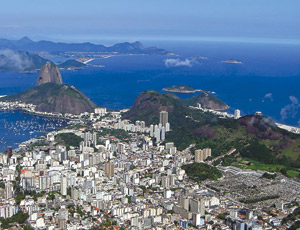 Rio expects to benefit from big spending for the 2014 World Cup and 2016 Summer Olympics