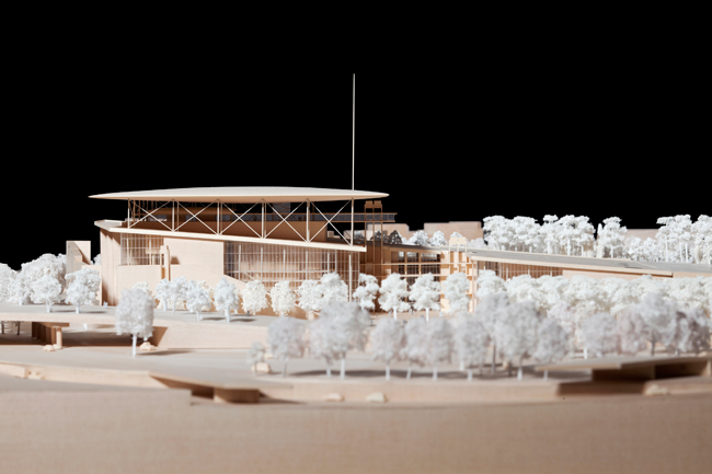 Construction of the $803 million Stavros Niarchos Cultural Center will start later this year and conclude in 2015. The building will rise on the Saronikos Kolpos waterfront in southern Athens, within