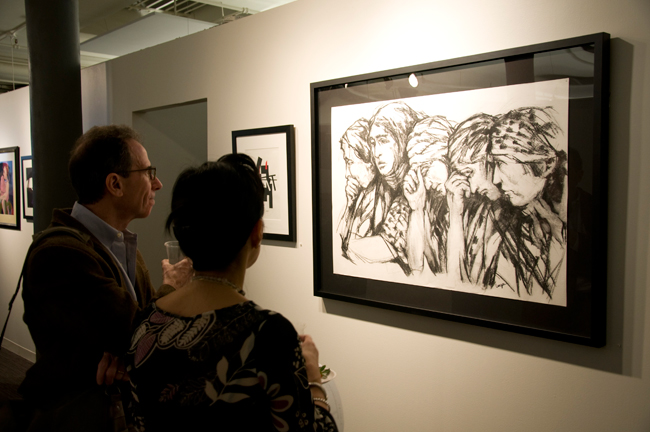 In the spring of 2010, FXFOWLE staged a show featuring the work of artist Elizabeth Langer. The gallery is booked through 2013.