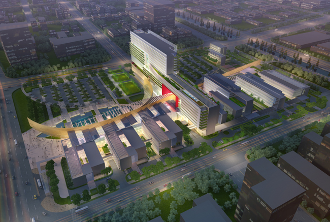 HMC Architects Brings Green Sensibility to Medical Project in China