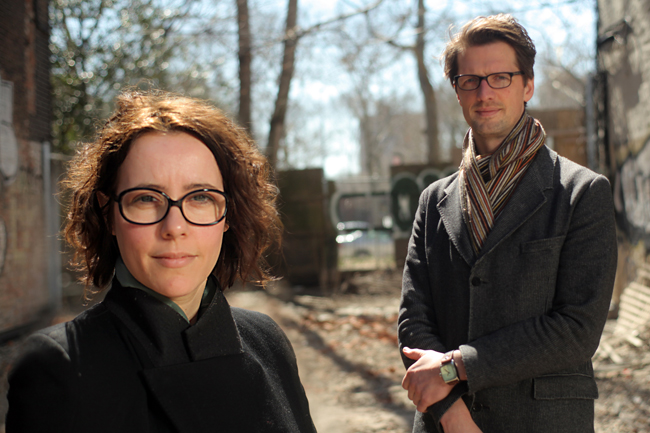 New York City Lab team members Elma van Boxel and Kristian Koreman of the Rotterdam-based architecture firm ZUS (Zones Urbaines Sensibles)