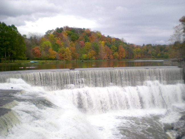 Cornell is located in Ithaca, a picturesque town in upstate New York known for its gorges and fall foliage.