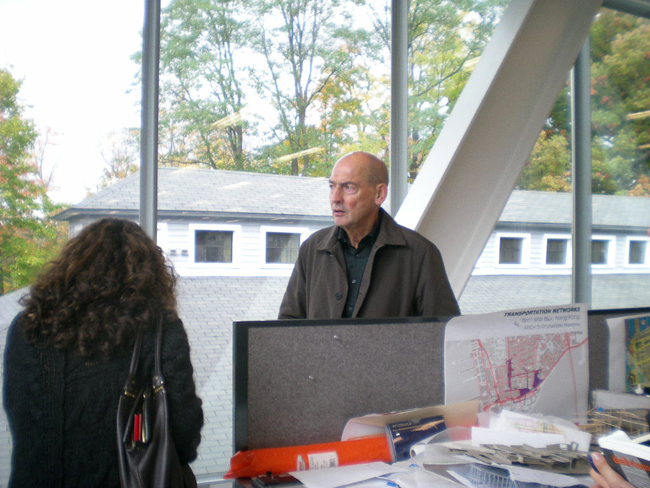 Rem Koolhaas, who was hired for the project in 2005, led a tour of the building in late October.