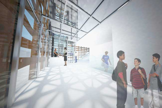 Shigeru Ban is designing a new art museum for Aspen, Colorado. The 30,000-square-foot building will feature six galleries, a caf', a bookstore, a rooftop deck and sculpture garden, offices, workshop a