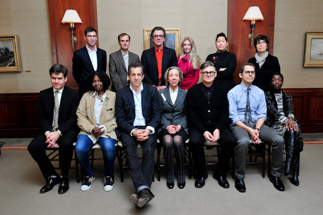 <strong>The Jury</strong>: (Top Row, Left to Right) Michael Arad, architect and designer of the National September 11 Memorial; Barry Bergdoll, chief curator of architecture and design at the Museum o
