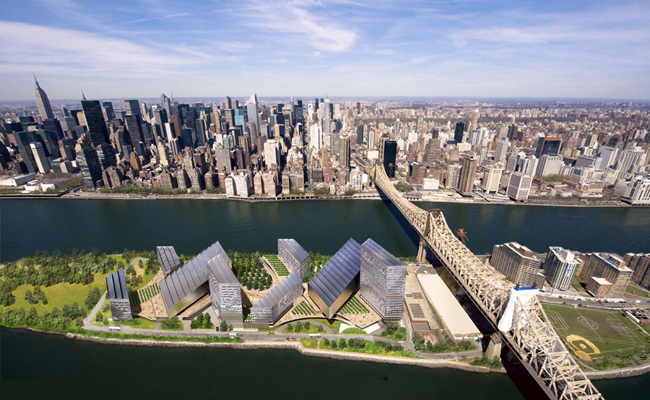 Ambitious Energy Goals in SOM Plan for NYC Campus