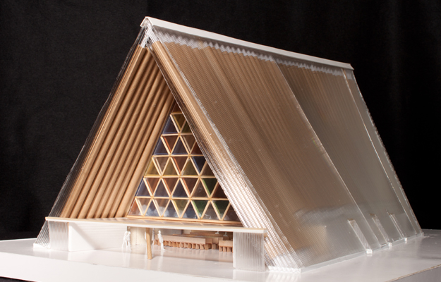 In Quake-Ravaged Christchurch, Ban's Cardboard Cathedral Ready for Groundbreaking
