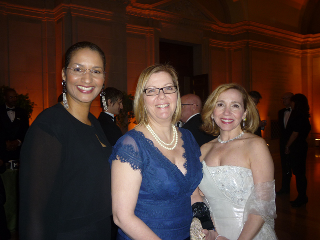 Faith Williams, Jennifer Kohlas, and JoMarie Victor-Glig.