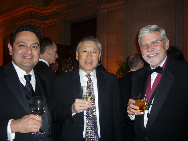 Pankaj Duggal of Jacobs Engineering with Bob Hsu and Scott Simpson of KlingStubbins.