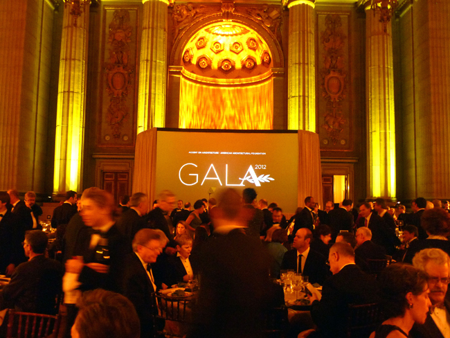The foundation held the event at the Andrew W. Mellon Auditorium in Washington, D.C.