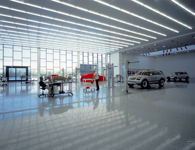 <strong>Architect:</strong>	Skidmore, Owings & Merrill LLP<br><strong>Client:</strong> Kia Motors America, Inc.
