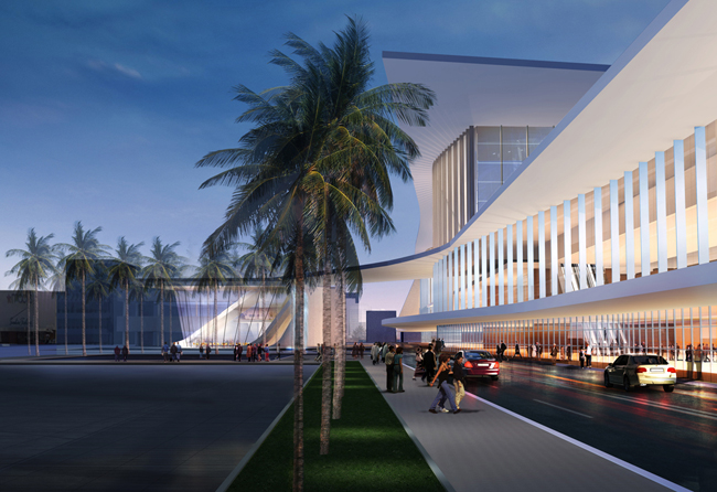The Miami Beach Convention Center opened in 1957.
