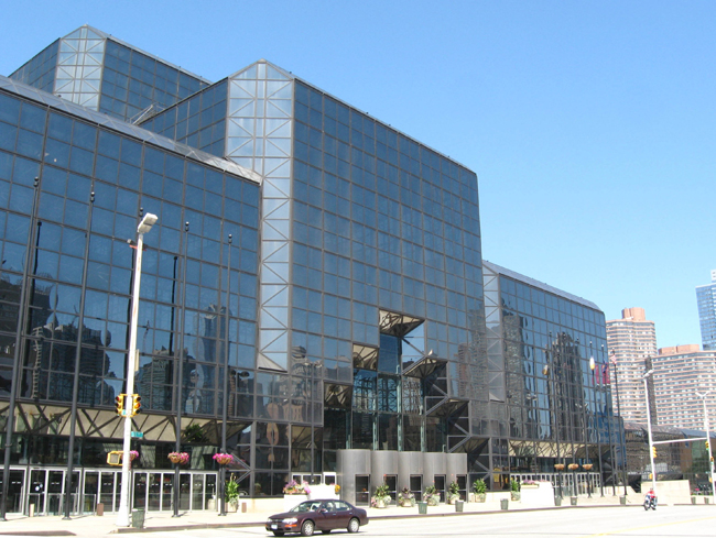 New York's Jacob K. Javits Convention Center was designed by James Ingo Freed (of the firm now known as Pei Cobb Freed & Partners). It opened in 1986.