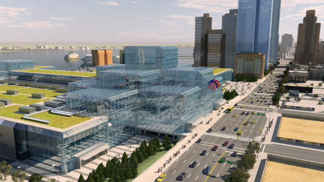 After decades of being dissed, Javits Center is finally getting some respect: A $463 million renovation, designed by the Manhattan firm FXFOWLE. After decades of being dissed, Javits Center is finally