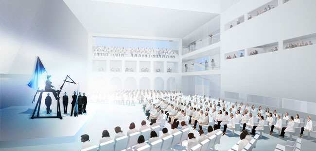 The firm unveils its design for a performance art training camp in upstate New York.