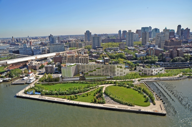 Brooklyn Bridge Park condo and hotel development