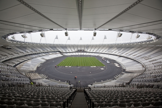 The Populous-designed Olympic Stadium in London is one of six nominees for this year's Stirling Prize.