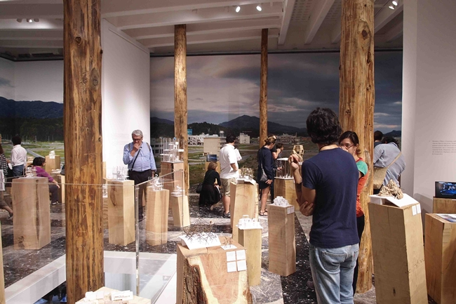 The Japanese Pavilion at the 2012 Venice Architecture Biennale