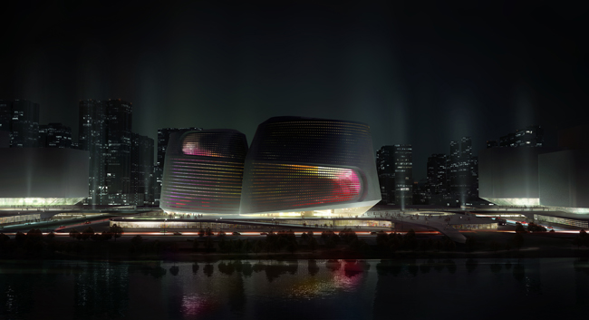 UNStudio's proposed NAMOC design.