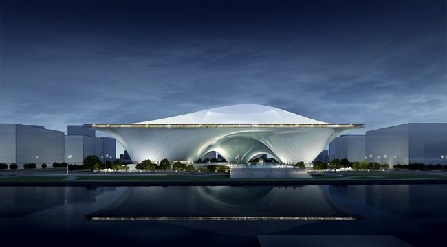 A proposal from Beijing-based MAD Architects.
