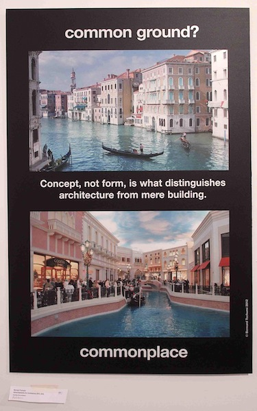 Bernard Tschumi's <em>Advertisements for Architecture</em> at the Arsenale