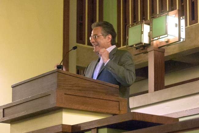 Max Weinberg at Frank Lloyd Wright's Unity Temple
