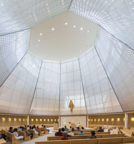 Pelli Clarke Pelli's St. Katharine Drexel Chapel at Xavier University in New Orleans, Louisiana.