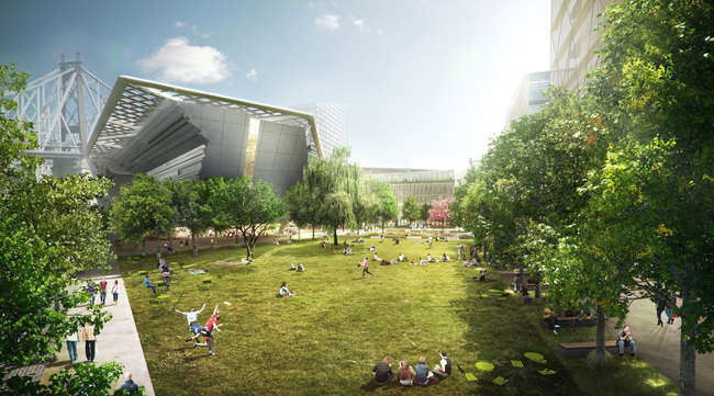 Cornell Tech Begins Public Review Process