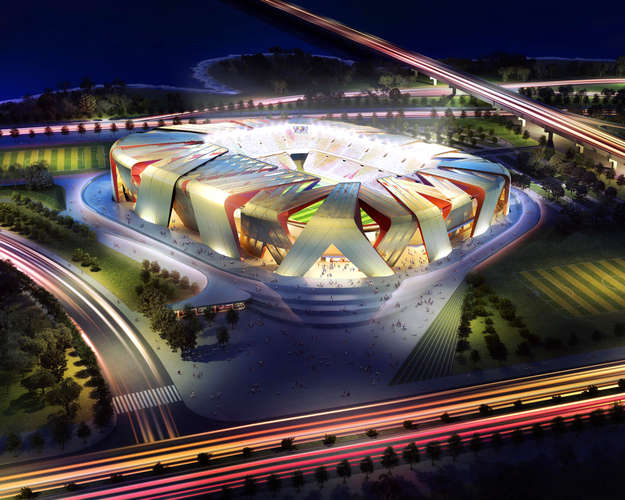 UNStudio - Dalian Football Stadium - Dalian, China