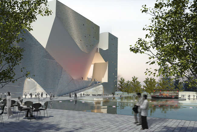 The 600,000-square-foot project will break ground in the new city of Tianjin, China, in spring 2013.