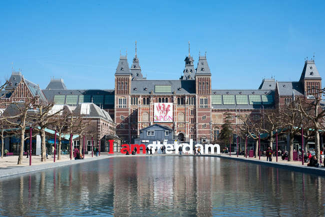 The Rijksmuseum shares a prime public square with its neighbor, the Stede&#173;lijk, also recently reopened following a renovation and expansion.<br />